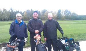 Runners-Up Texas Scramble 2013 - Omar, John & David