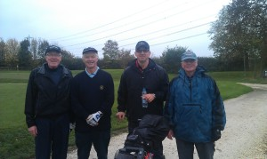 Texas Scramble contenders 2013 - Brian, David, Colin & Roy