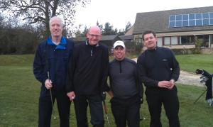 Winning Texas Scramble Group 2013 - Jon, Richard, Les & Ian