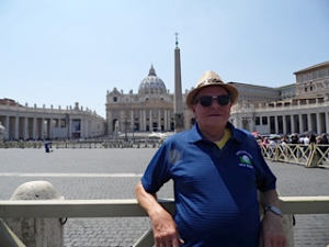Robin at the Vatican