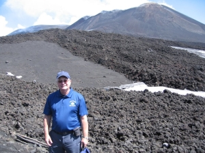 No golf course on the slopes of Mount Etna in Sicily!!