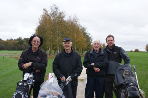 John, David W, Brian and Graeme